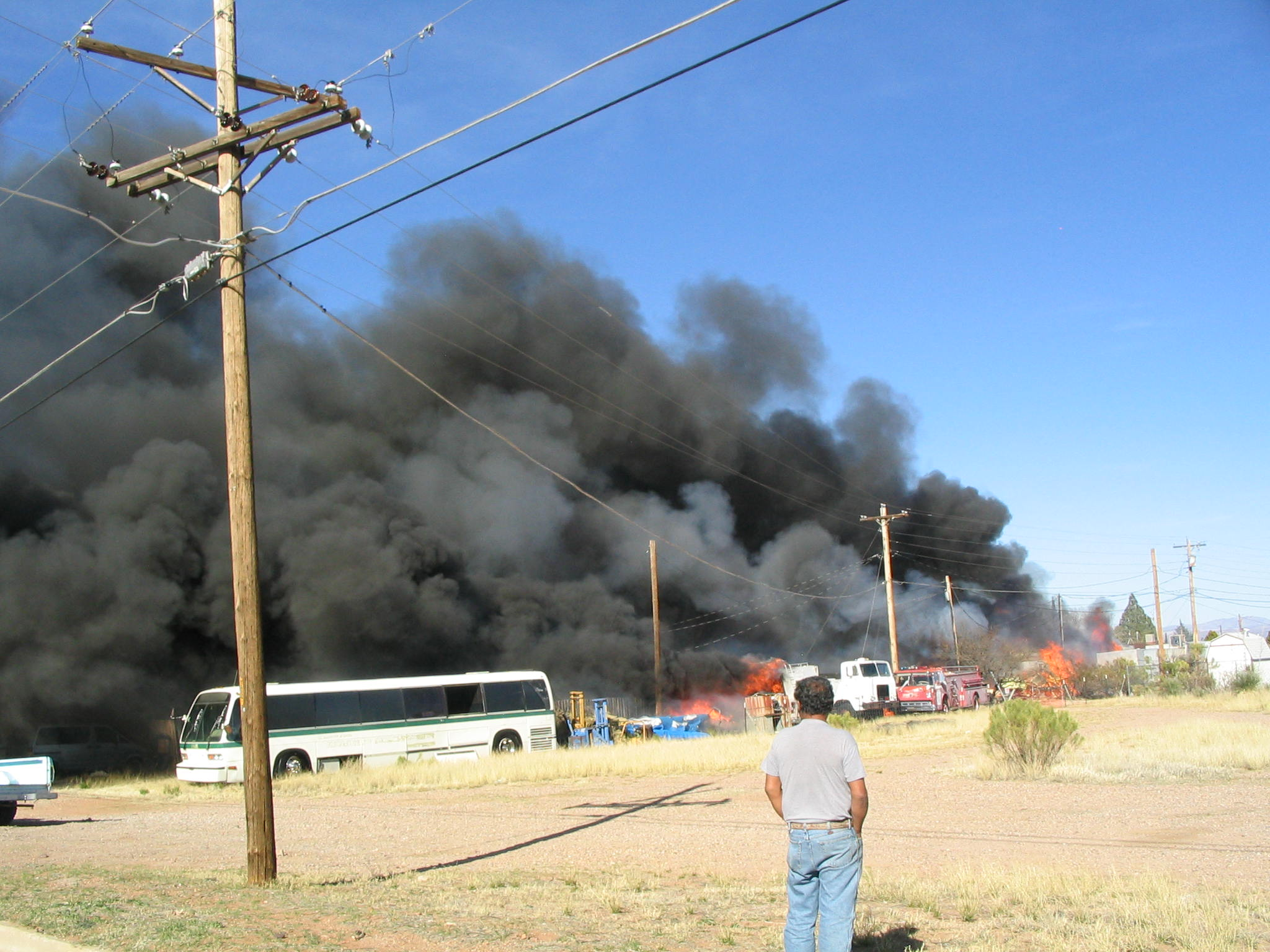 Multiple Structure Fire in Huachuca City