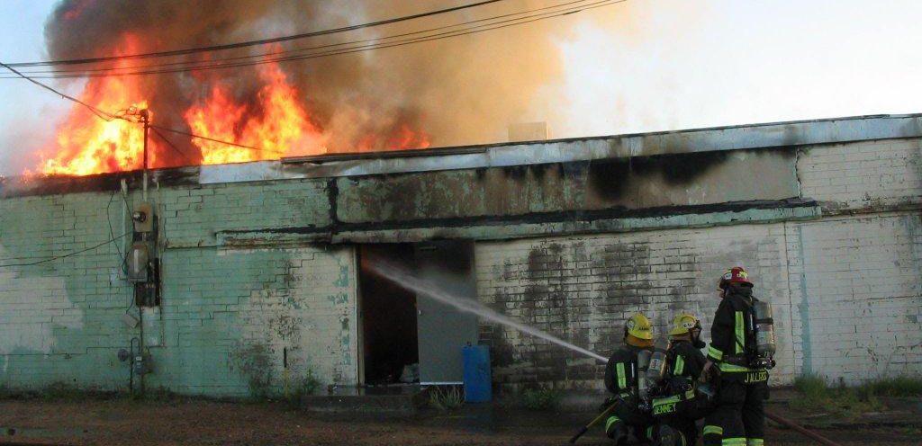 Fire at Twice as Nice – May 21, 2012