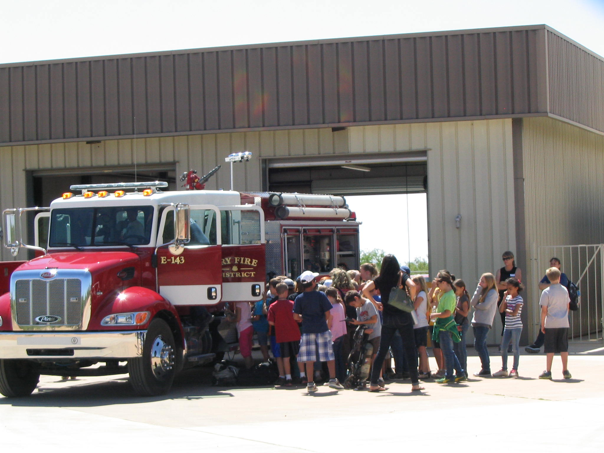 Tour of Fire Station